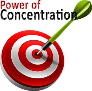 Power of Concentration for Success